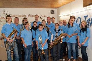 Jugendkapelle Musikverein Börtlingen beim Jugendmusikerringtreffen in Birenbach am 11.04.2012