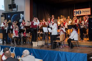 Aktive Kapelle @ Jahresfeier 2014 - 90 Jahre MVB