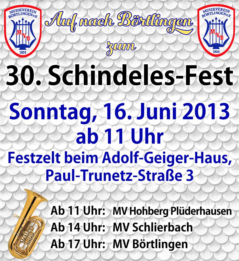 30. Schindelesfest