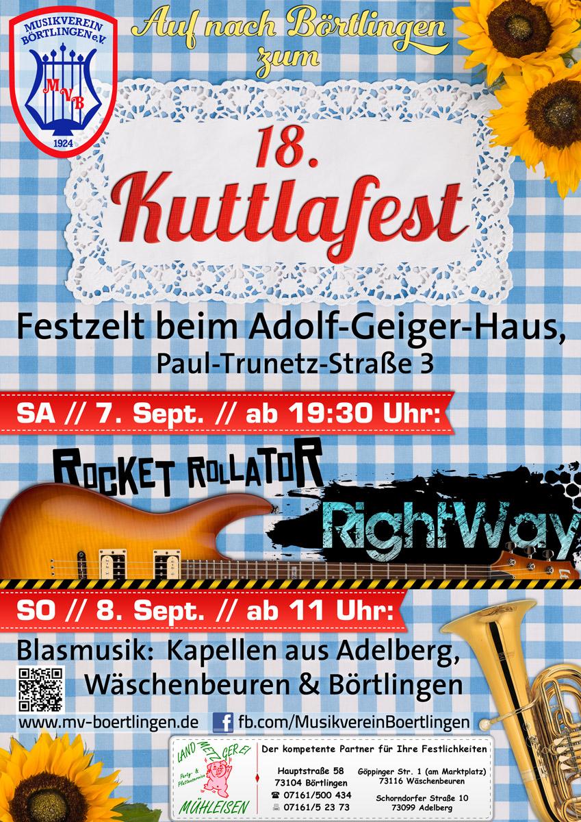 18. Kuttlafest MV Börtlingen