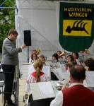 MV Börtlingen beim 42. Schurwaldmusikerringtreffen Wangen