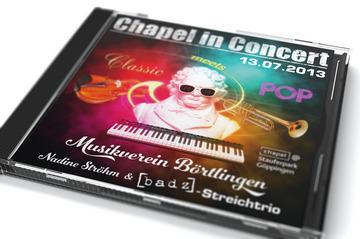 "CD vom Chapel-Konzert des MV Börtlingen im Jahr 2013 (""Classic meets Pop"")"