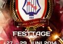 Festtage zum 90-jährigen Jubiläum des MV Börtlingen vom 27. bis 29. Juni 2014