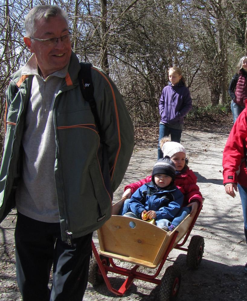 Karfreitagswanderung zum Hohenstaufen am 3. April 2015