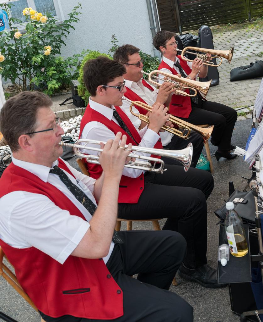 31. Schindelesdorffest des Musikvereins Börtlingen am 14. Juni 2015