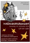Weihnachtskonzert des Liederkranzes Börtlingen am 20. Dezember 2015