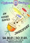 Jahresfeier 'Ein Kessel Buntes' am 30. und 31. Januar 2016