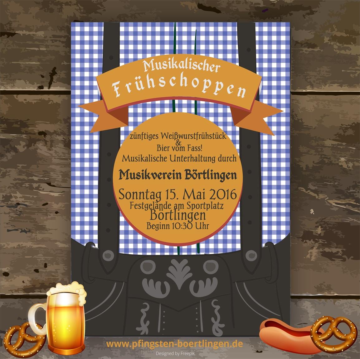 Frühschoppen 40. Pfingstturnier 2016 TV Börtlingen
