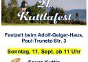 21. Kuttlafest am 11. September 2016