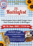 25. Kuttlafest des MV Börtlingen am 19. Sept. 2021